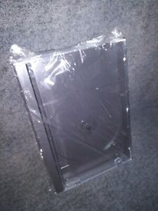 NEW!!! BLANK SEGA CD REPLACEMENT CASE  SATURN PS1 LONG BOX SONY PLAYSTATION