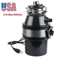 Household Food Waste Processor & Kitchen Garbage Disposal Crusher 110V 2-5 Days