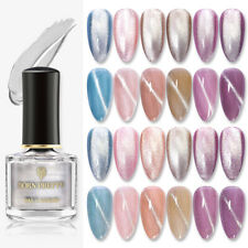BORN PRETTY 6ml Magnetic Silver Snowlight Semi-transparent Cat Eye Polish Set