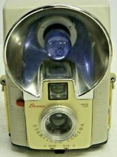BROWNIE STARFLASH Vintage Camera Made in USA Uses 127 Film Good Cond for Age\