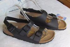 NEW Birkenstock Roma Ladies Black Mules Sandals UK Size 3.5 EU 36