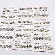 25 Model Dental Orthodontic Ultrathin Metal Bracket Braces Mini/Standard 1 Pack