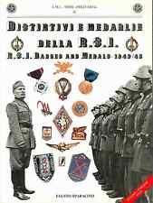 Catalogo distintivi e medaglie della RSI Repubblica Sociale 1 volume