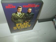 FLIC STORY rare French Classic dvd ALAIN DELON 1975