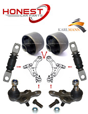 For LEXUS RX300 03> FRONT LOWER WISHBONE TRACK CONTROL ARM BUSHES BALLJOINTS KIT