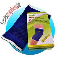 2x Universal Knie Stütz Bandage Kniebandage Knieschoner Knieschutz Sportbandage