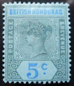 Br. Honduras Scott # 52, Mint Original Gum (HR)