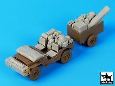 Black Dog 1/35 British Para Jeep After Drop Accessories Set (for Bronco) T35111