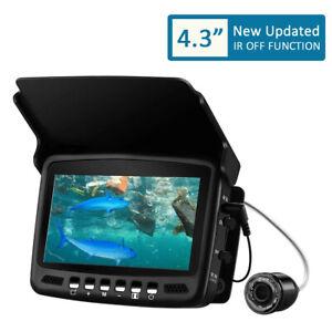 "4.3"" 30M Depth Fish Finder Underwater IP Infrared Light DVR TF Fishing Camera"