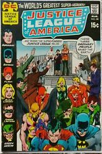 JUSTICE LEAGUE OF AMERICA #88 VF 8.0 DC 3/1971