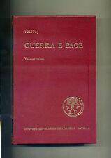 Tolstoj # GUERRA E PACE # VOL. I # Istituto Geografico De Agostini 1968