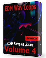 Edm Volume 4 New Samples Loops Edm, Ableton, Logic, ProTools, Fl Studio Festival
