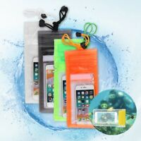 Under Water Proof Cell Phone Case Cover Protector Holder Dry Pouch Bag
