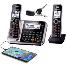 PANASONIC TG7892 DECT 2 HANDSET CORDLESS PHONE ANS/MACHINE BLUETOOTH KEY/FINDER
