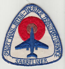 Wartime Saberliner T-39 Patch / Aviation Insignia