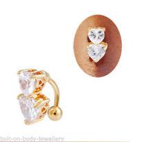Joyas de color principal oro cristal no aplicable para el cuerpo