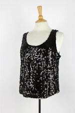 Maglie e camicie vintage da donna nero originale