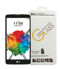9H Gorilla Tempered Glass Screen Protector for LG Stylo 2 Plus K550 T-Mobile