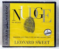 NEW Nudge Leonard Sweet Oasis Audio PDF Christian Book Unabridged 9 CD Awakening