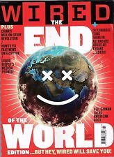 WIRED MAGAZINE MARCH 2017 THE END OF THE WORLD EDITION  POST FREE