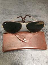 Vintage Authentic Ray-Ban Baush&Lomb Aviators Sunglasses With Case