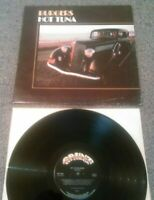 HOT TUNA - BURGERS LP EX!!! UK 1ST PRESS GRUNT FTR-1004 2E JEFFERSON AIRPLANE