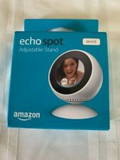 Echo Spot Adjustable Stand - White - STAND ONLY