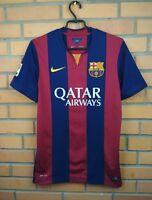 Barcelona Jersey 2014 2015 Home S Shirt 610594-422 Soccer Football Nike Trikot