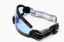 Motorcycle ATV DIRT BIKE RACING SKI GOGGLES Blue Lens Glasses HM8883