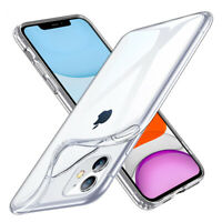 Slim Crystal Clear Soft TPU Case Cover For iPhone 11 Pro X XR XS Max 6 7 8 Plus