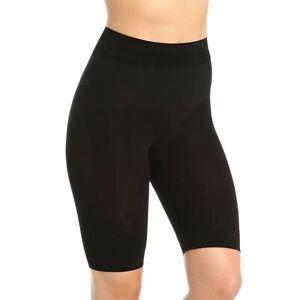 Body Wrap Shapewear High Waist Lont Leg Panty 44820 Size Small Black