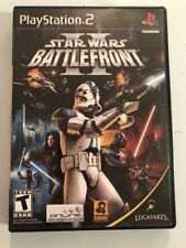 Star Wars Battlefront II Sony Playstation 2 PS2  Complete Very Good Shape