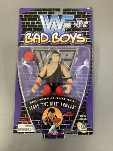 WWF Jerry The King Lawler Jakks 1997 Series 4 Bad Boys BCA WWE Wrestling Figure