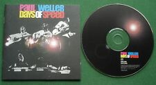 Paul Weller Days Of Speed inc English Rose / That's Entertainment + CD