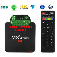 "MXQ Pro 4K - Android Box - 7.1 - QUAD CORE ""FREE KEYBOARD"" compare dreamlink7"