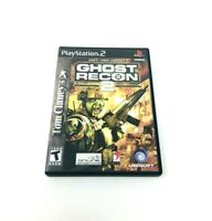 Tom Clancy's Ghost Recon 2 Sony Playstation 2 PS2 Video Game Complete