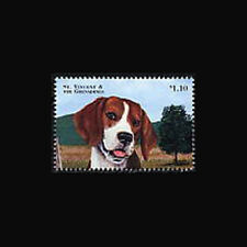 ST VINCENT, Sc #2583a, MNH, 1998, Dog, Beagle, 230*F