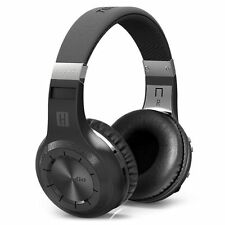 New BLUEDIO H-Turbine Bluetooth 4.1 Wireless stereo headphone headset -black NE