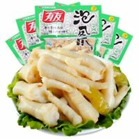 10 Bags x 100g Chinese Food Youyou Chicken Feet Spicy Shanjiao Flavor 有友泡椒凤爪迷你小包