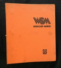 GENUINE KUBOTA 2050 L2050 TRACTOR SERVICE REPAIR MANUAL VERY GOOD SHAPE