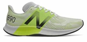 New Balance Men's FuelCell 890v8 Shoes White with Green