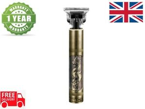 WIRELESS PORTABLE HAIR CLIPPER ELECTRIC PRO T-OUTLINER CORDLESS TRIMMER - DRAGON