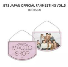 BTS FAN MEETING 5th MUSTER OFFICIAL MERCH - MAGIC SHOP DOOR SIGN