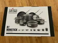 All-Clad B1 Nonstick 13-piece Cookware Set Hard Anodized Double-Riveted Handle