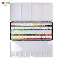 MWPH-48C Mungyo Professional Water Color Half Pan 48 Color Set_VA