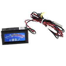 Digital LCD Thermometer Temperature Meter Gauge Molex Panel Mount C F PC Mod