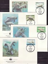 Togolaise 1984 - FDC - Vissen/Fish/Fische (WWF / WNF)