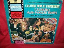 MICALIZZI L'Albero dalle foglie Rosa.+ L'ultima neve LP 1980 EX ITALY Unique CVR