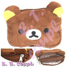 Handmade San-X Korilakkuma Brown money soft phone purse