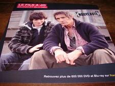 GERARD LANVIN & JEREMIE DUVALL - PLV en papier 30x30 LE FILS A JO !!!!!!!!!!